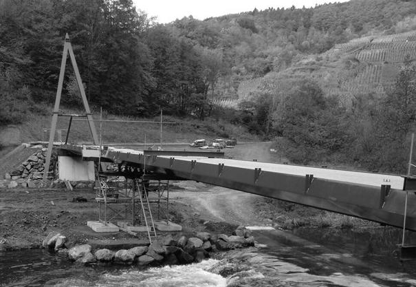 Fuß- und Radwegbrücke über die Ahr
